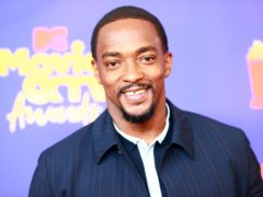Anthony Mackie was honoured for his portrayal of a black Captain America in The Falcon And The Winter Soldier at the MTV Movie & TV Awards (Matt Winkelmeyer/2021 MTV Movie and TV Awards/Getty Images for MTV/ViacomCBS)