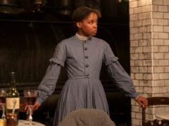 Star of The Underground Railroad Thuso Mbedu said the highly anticipated series about runaway slaves in the 19th century US is not 'trauma porn' (Kyle Kaplan/Amazon/PA)