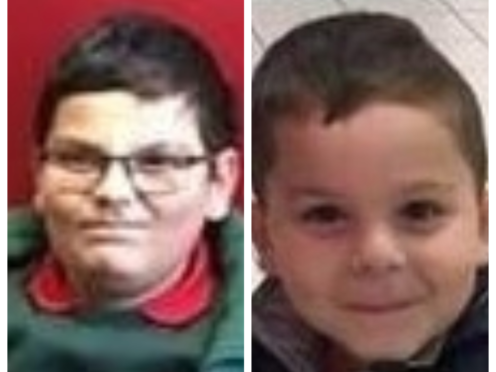 Police in Northern Ireland are appealing for the public's helping in locating Fabricio Hovarth (left) and Patrick Hovarth (right) who were last seen in Belfast on Friday evening (PSNI/PA)
