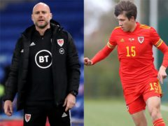 Robert Page sprung a surprise with the inclusion of Rubin Colwill in his Wales squad for Euro 2020 (Nick Potts/Martin Rickett/PA)