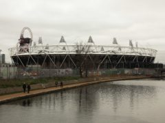 The Olympic stadium in Stratford, east London (Yui Mok/PA)