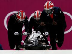Lamin Deen's four-man bobsleigh crew have been upgraded to World Cup gold (David Davies/PA)