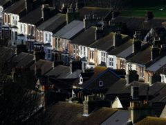 Mortgage borrowing fell back in April from a record high the previous month, according to the Bank of England (Gareth Fuller/PA)