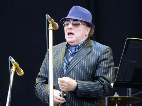 Van Morrison performs on stage during the 2018 Isle of Wight festival at Seaclose Park, Newport (David Jensen/PA)