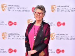 The Great British Bake Off host Prue Leith has been made a dame in the Queen's Birthday Honours (Matt Crossick/PA)