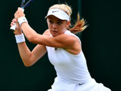 Katie Swan defeated Arina Rodionova to qualify for Wimbledon (Victoria Jones/PA)