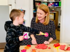 Education Secretary Shirley-Anne Somerville welcomed the allocation of up to £20 million for summer activities for children and young people (Social Security Scotland/PA)