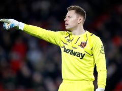 West Ham goalkeeper David Martin has signed a one-year contract extension (Martin Rickett/PA)