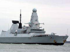 HMS Defender (Ben Mitchell/PA)