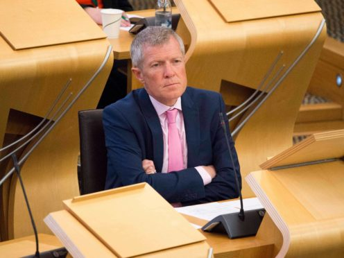 Willie Rennie raised the issue at First Minister's Questions (Colin Fisher/PA)