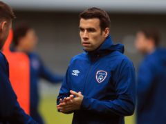 Seamus Coleman has been ruled out of Republic of Ireland's game against Hungary (Adam Davy/PA)
