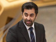 Humza Yousaf said NHS capacity would be increased (Jane Barlow/PA)