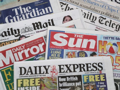 What the papers say – June 23 (PA)
