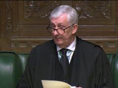 Speaker Sir Lindsay Hoyle (House of Commons)