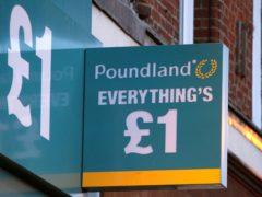 Poundland has revealed its latest results (Dominic Lipinski/PA)