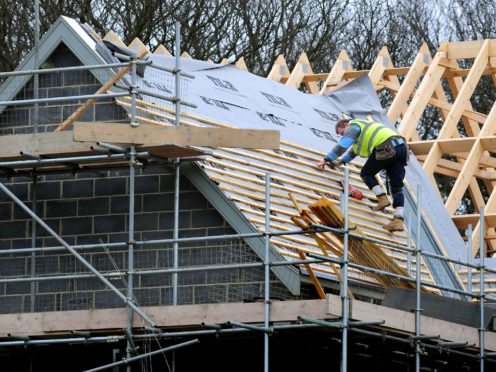 Housebuilder Crest Nicholson has hiked its full-year profit outlook (PA)