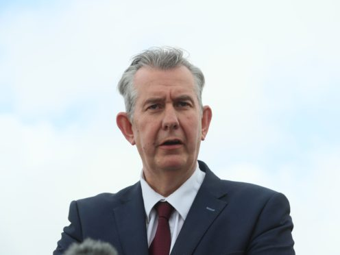 DUP leader Edwin Poots (Brian Lawless/PA)