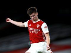 Kieran Tierney has committed his long-term future to Arsenal (Ian Walton/PA)