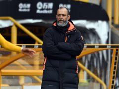 Nuno Espirito Santo left Wolves in May (Andy Rain/PA)