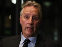 Ian Paisley said his comments about Robin Swann were 'parody' (Brian Lawless/PA)