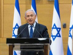 Israeli prime minister Benjamin Netanyahu (Yonatan Sindel/Pool via AP)