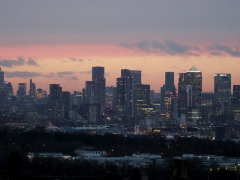 The London market jumped on Friday after the ONS reported a strong rebound in the economy for April (Jonathan Brady/PA)