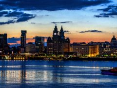 Liverpool waterfront (Peter Byrne/PA)