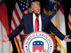 Former President Donald Trump (Chris Seward/AP)