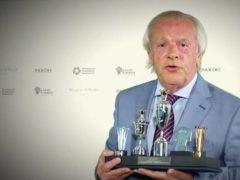 Gordon Taylor received the PFA merit award (PFA YouTube channel)