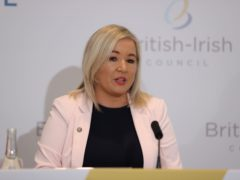 Deputy First Minister Michelle O'Neill will be automatically removed from her post when Arlene Foster formally resigns (Liam McBurney/PA)