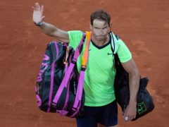 Rafael Nadal had to leave Roland Garros without the trophy (Christophe Ena/AP)