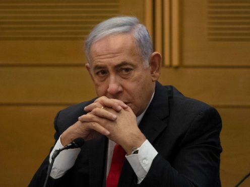 Former Israeli prime minister Benjamin Netanyahu (Maya Alleruzzo/AP)