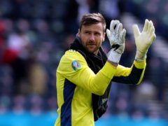 Scotland goalkeeper David Marshall was beaten by fantastic finish, says Steve Clarke (Andrew Milligan/PA)