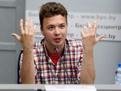 Belarusian dissident journalist Raman Pratasevich (Ramil Nasibulin/BelTA pool photo via AP)