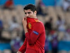 Alvaro Morata missed two good chances to break the deadlock for Spain (Pierre Philippe Marcou/AP)