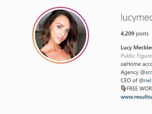 Lucy Mecklenburgh's Instagram profile (Instagram)