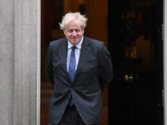 Prime Minister Boris Johnson outside 10 Downing Street (Stefan Rousseau/PA)