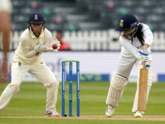 India's lower order scuppered England's chances of a first Test victory on home soil since 2005, as the two nations played out a draw at the Bristol County Ground (Zac Goodwin/PA)
