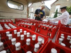 Kraft Heinz say new machinery will allow the use of more sustainable packaging (John D McHugh/Heinz/PA)