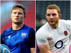 England hope Sam Underhill, right, and Fraser Dingwall will be fit to face USA and Canada (Ian Rutherford/Adam Davy/PA)
