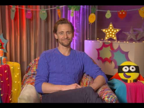 Tom Hiddleston is to read a Bedtime Story for CBeebies (BBC/PA)