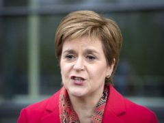 First Minister Nicola Sturgeon promised businesses will get as much support as possible while Covid restrictions remain (PA)