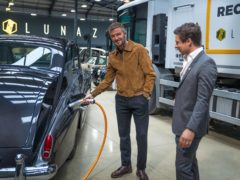 Beckham has announced his investment in Lunaz