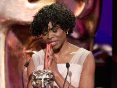 Rakie Ayola won the supporting actress award (Bafta/Guy Levy/PA)
