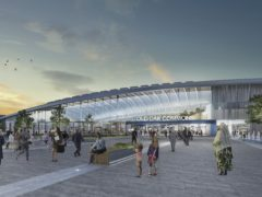 Construction of HS2's west London station will be given the go-ahead by Transport Secretary Grant Shapps on Wednesday (HS2/PA)