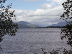 A search is under way at Loch Lomond (Yui Mok/PA)