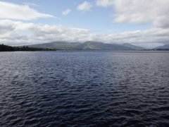Emergency services went to the incident at Loch Lomond (Yui Mok/PA)