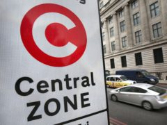 A so-called 'temporary' 30% increase in the fee for driving into central London will be made permanent under Transport for London plans (Philip Toscano/PA)