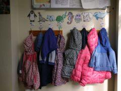 Children's coats (Niall Carson/PA)