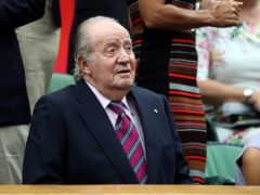 Juan Carlos left Spain last August to take up residence, at least temporarily, in the United Arab Emirates (John Walton/PA)